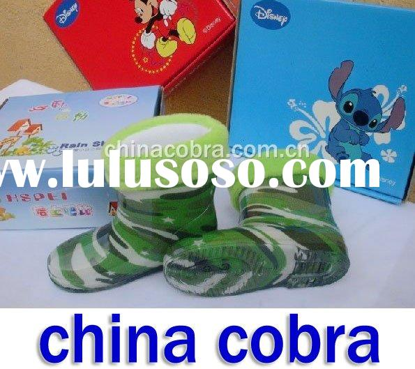 kids rain boots (accept paypal,credit card)  CHINA COBRA