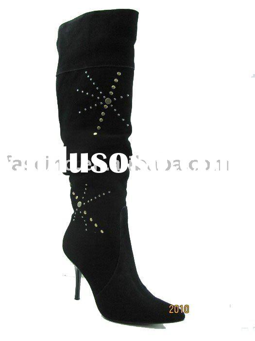 2011 Fashion leather Lady's boots