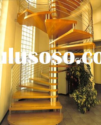 Building Spiral Stairs ( with stainless steel railing )