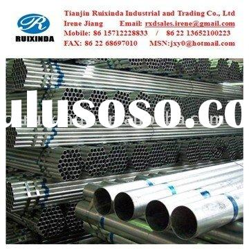 ERW Galvanized Pipe/Tube