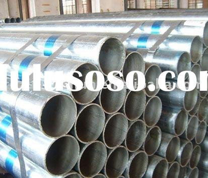 ERW steel galvanized pipe