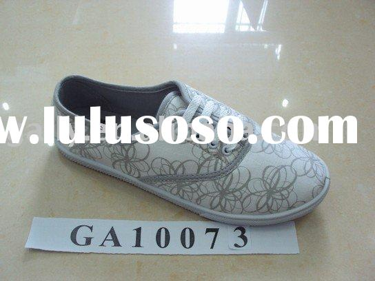 Fashion girls canvas shoes