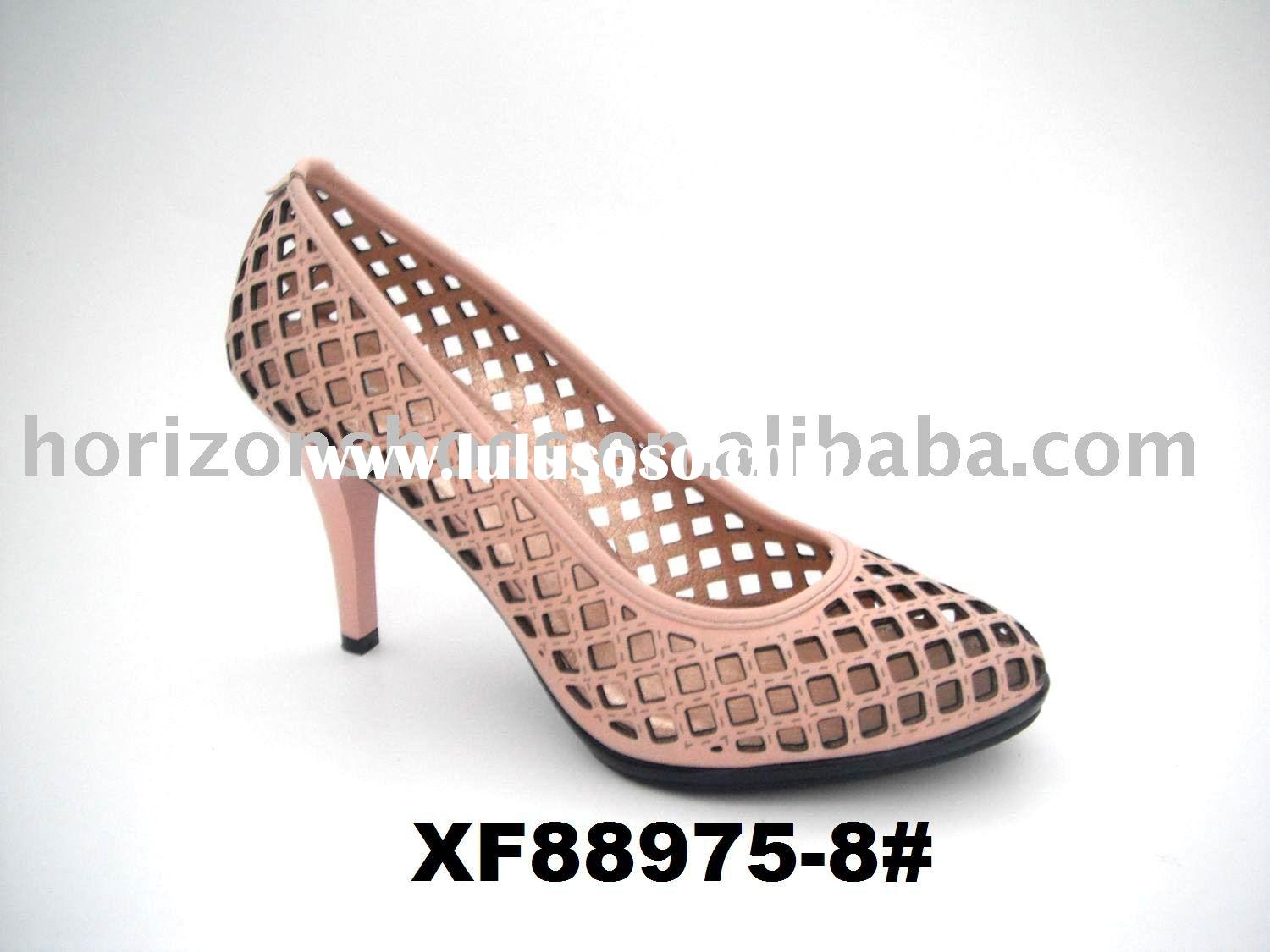 Hot!! 2011 Wholesale new style!! Ladies Fashion Shoes, see through design, XF88975-8#