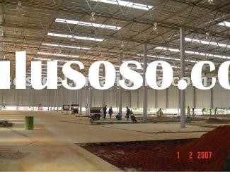 prefab steel structure building (7500m2 to Libya)