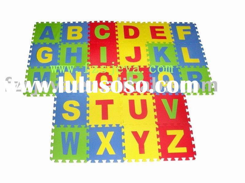 Alphabet Mats Foam Puzzle Floor Mat for kids
