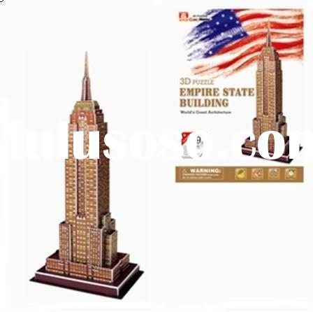 EPS Paper  Toys Empire State Building Cubic fun 3d Puzzle