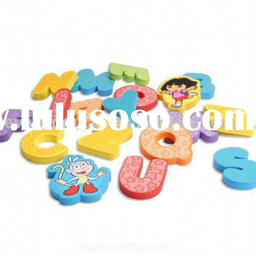 EVA foam bath toys