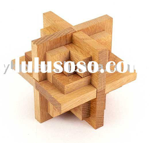 Wood Puzzle Solutions http://www.lulusoso.com/products/3d-Wooden-Puzzles-Layouts.html