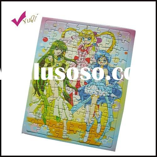 paper Jigsaw puzzle for kids
