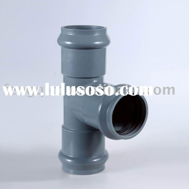 pvc pipe fittings/pipe fittings tee