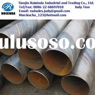 spiral welded pipes API