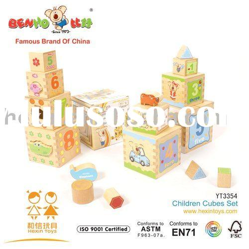 2011 Hexin top new wooden educational toys for children