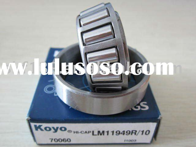 KOYO taper roller bearing LM11949 with single row Gcr15