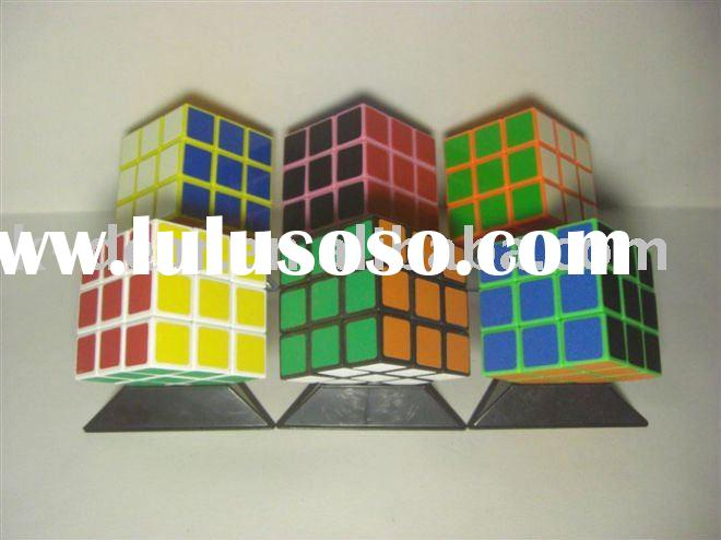 plastic magic puzzle cube