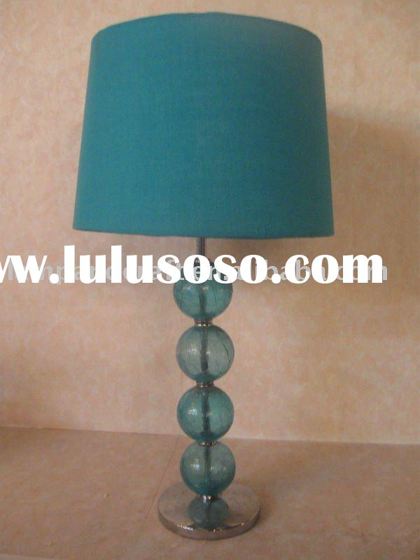 2010 Glass Table Lamp