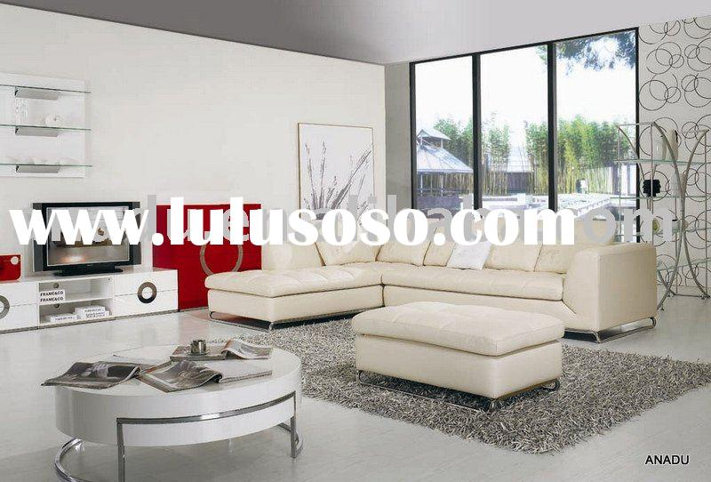 2011 Newly Design Leather Modern Sofa Sets