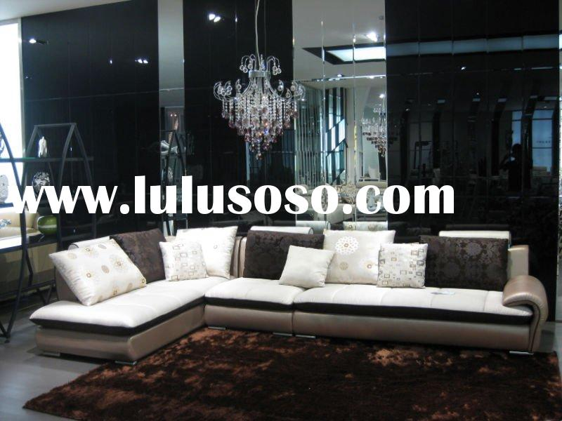 2011 new design leather,fabric sofa set,euro style living room sofa