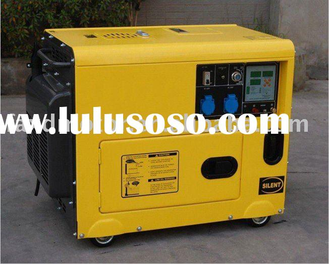 5 KVA Portable Soundproof Diesel Engine Generator Set