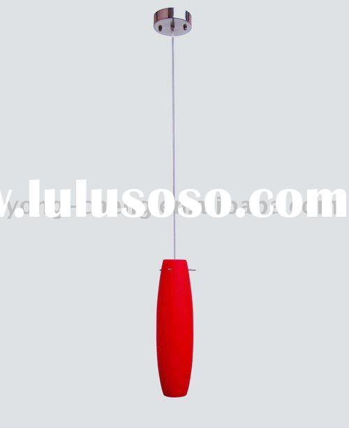 Classic red glass pendant light MD-J012
