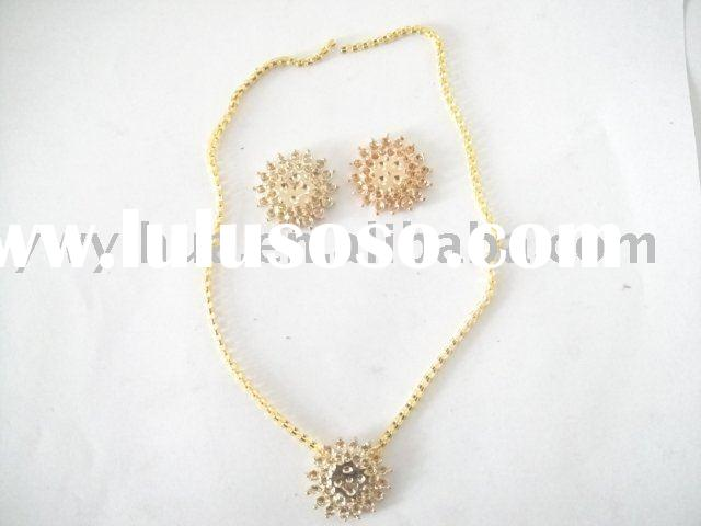 Fashion alloy jewerly sets