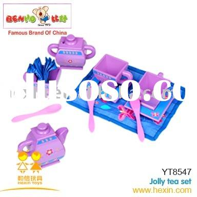 Kids Toy  Jolly Tea Set Toy (wooden products,wooden gifts,children toys)