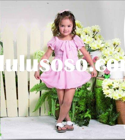 Lovely baby girl dress (good quality)-colorful skirt