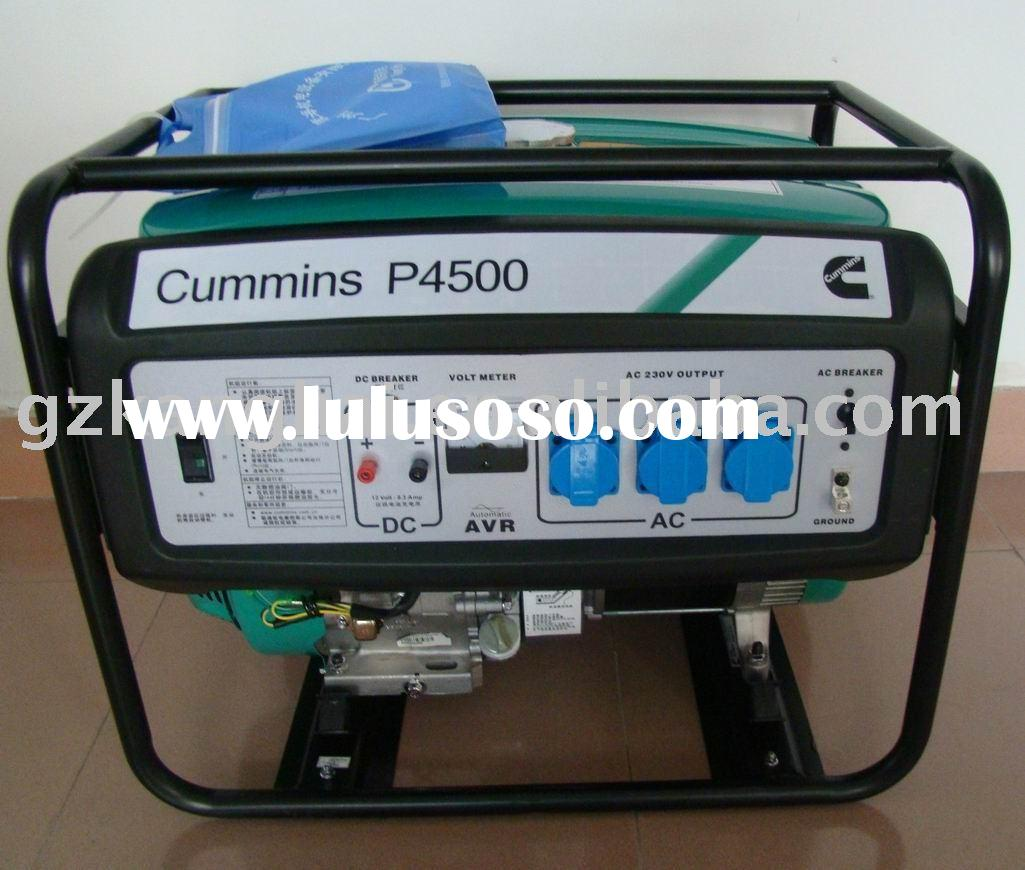 cummins home gasoline generator set/genset/generating set  5KVA