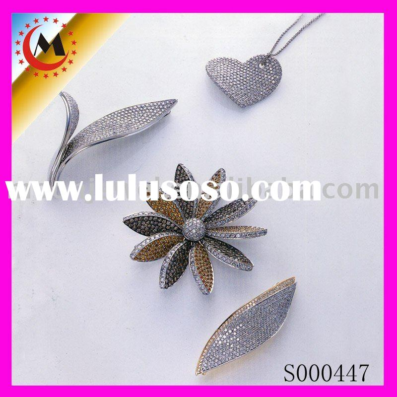 flowery jewerly sets