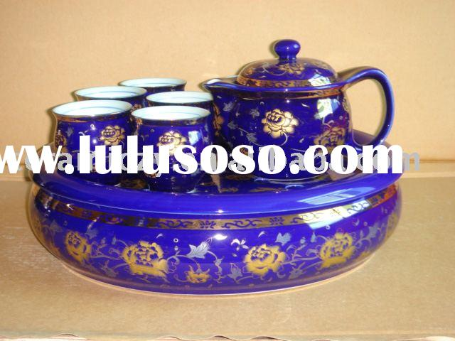 porcelain chinese tea set
