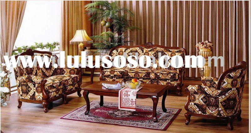 solid wood frame high quality fabric sofa set   very comfortable chesterfield sofa set.B47025