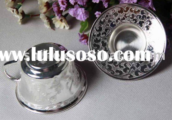 sterling silver coffee set and tea cup dinnerware