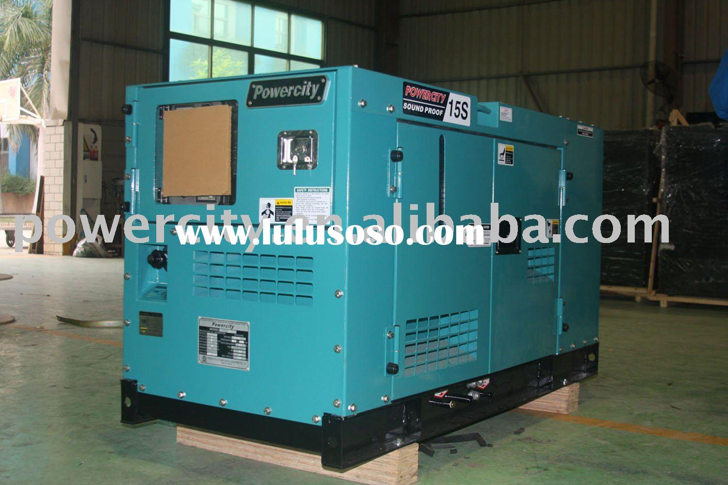 water-cooled silent diesel generator set
