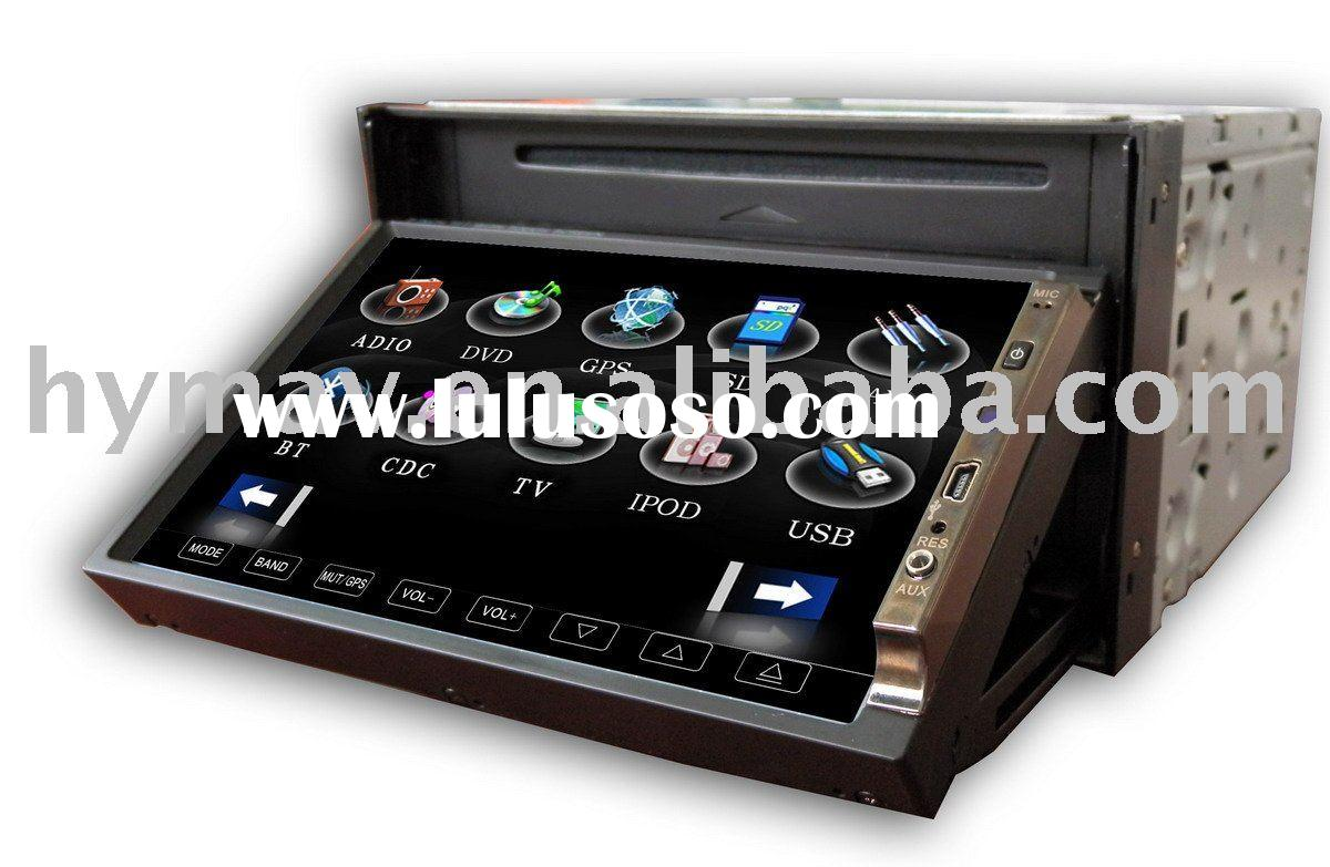 "7""DIGITAL PANEL double din in dash car dvd player with TOUCH BUTTON ON PANEL"