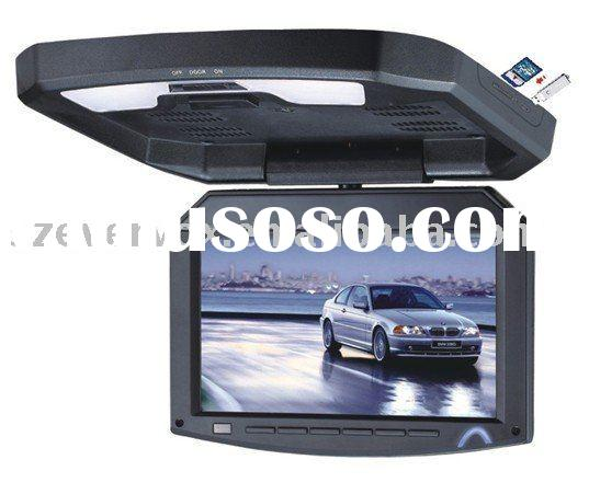 7 inch flip down monitor with usb and ir transmitter