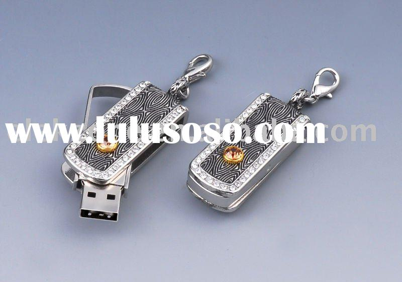 EU165 OEM  diamond usb flash driver/usb flash disk/usb flash memory/usb stick/usb key