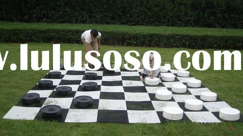 Giant Garden Checkers Set