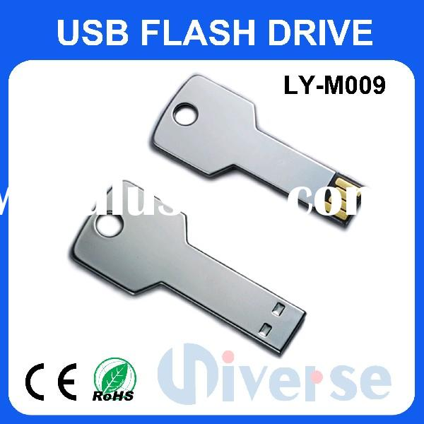 Key shaped USB Flash disk LY-M009 usb key,usb flash drive,usb 2.0 memory stick