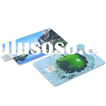 Personalized USB Credit Card flash memory cards