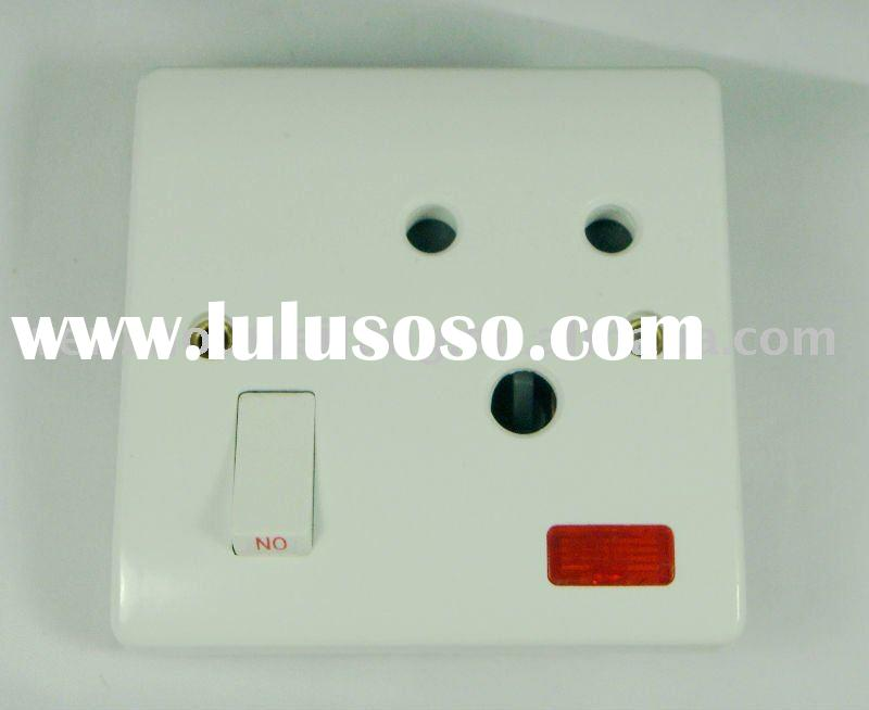 Screwless Electric Switch and Socket