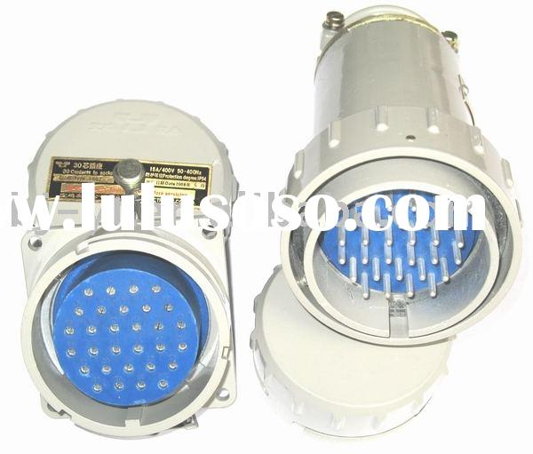 Waterproof of 30 Pin Plug & Socket Electrical Connector