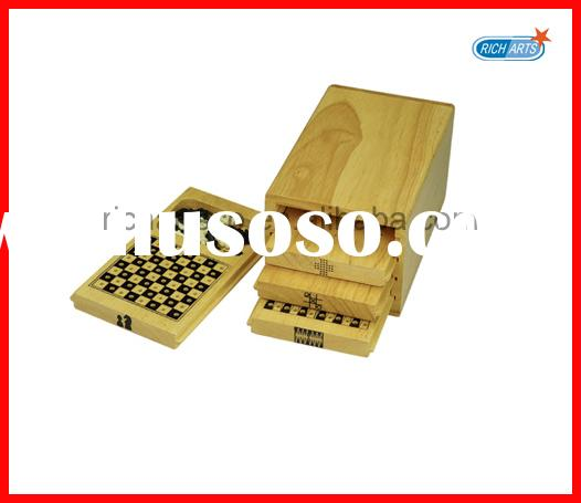 Wooden game set