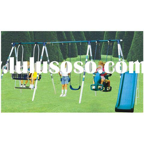 play seesaw (swing sets,garden swing)