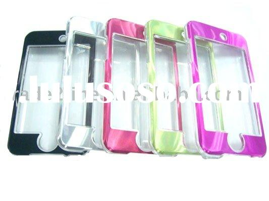 Crystal Aluminum Chrome Case for iPod touch 2nd accessories for iPod