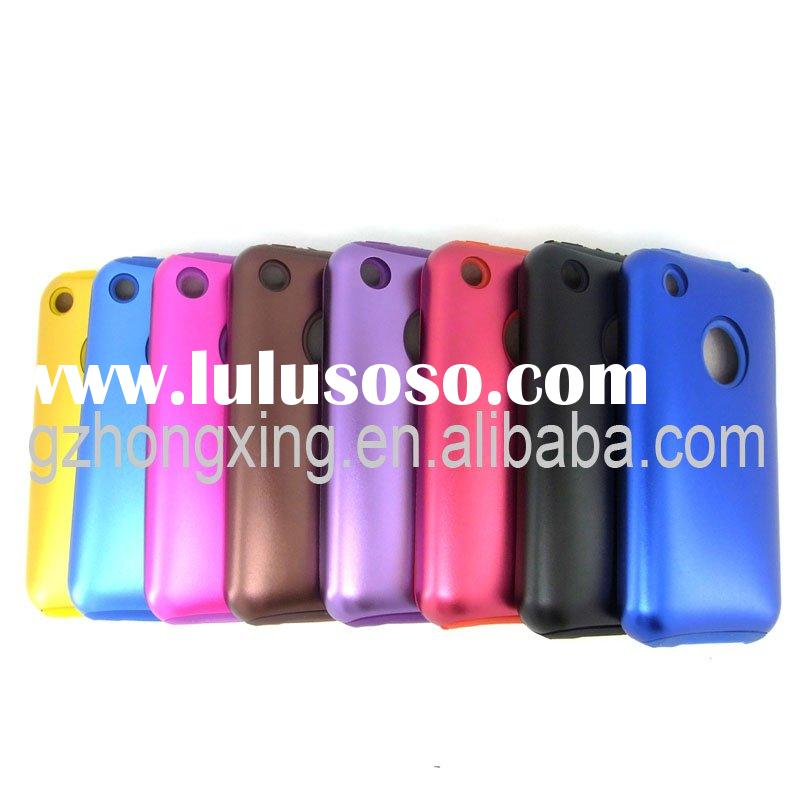 Mobile Phone Case With Aluminum and Silicone for iPhone 3G