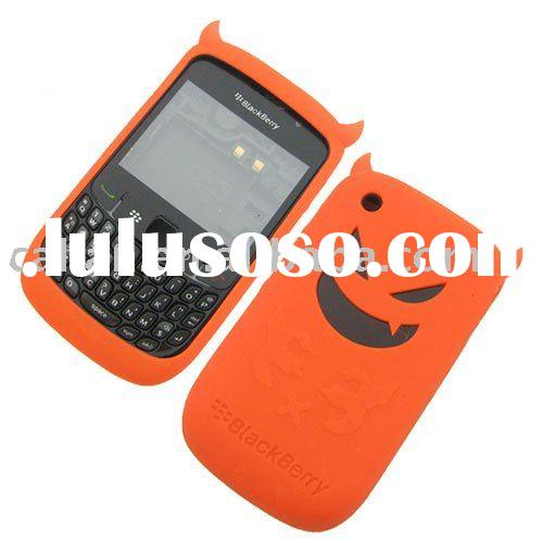 Silicone case/cover/skin angel and devil for Blackberry Curve 8520/ mobile phone accessories/parts
