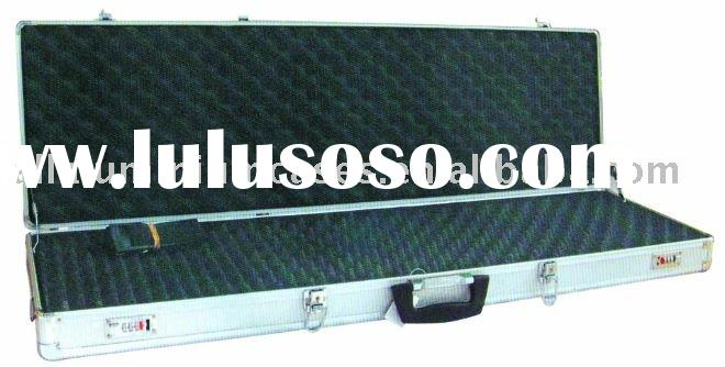 aluminum display gun case with foam
