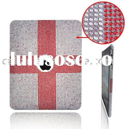 diamond rhinestone Swarovski Crystal protective hard Case cover for Apple Ipad Laptop