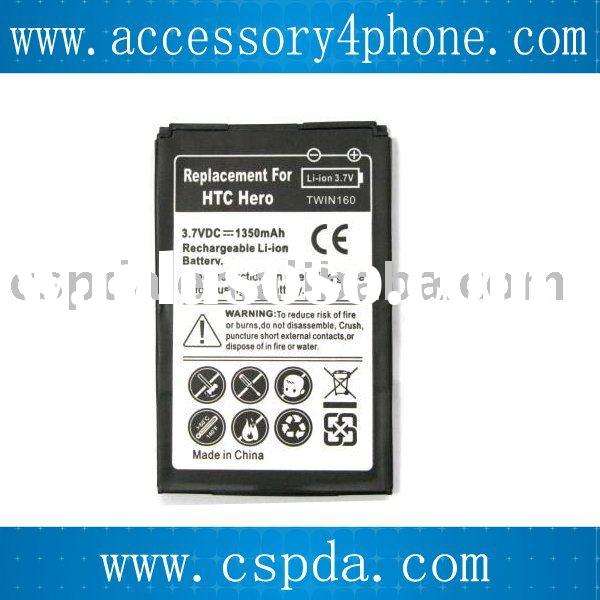 mobile phone battery for HTC HERO /T-Mobile G3 Touch / Sprint HTC Hero 100