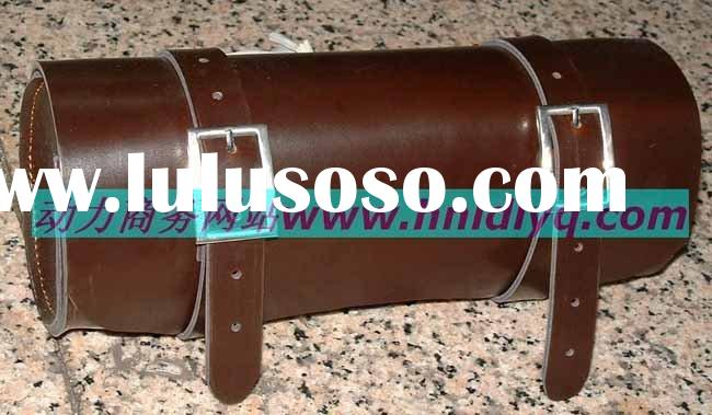 motorcycle leather tool bag,tool fork bags