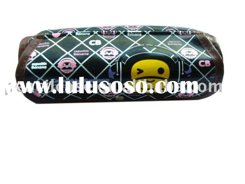 2011 new design leather  pencil case